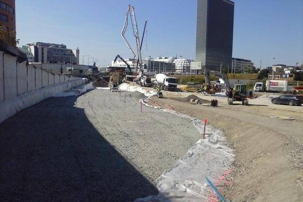 Strassenbau Wien baut auf Glasschaum_7